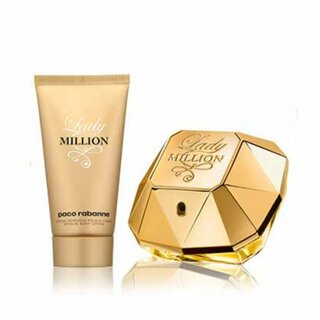 Paco Rabanne Lady Million 50 ml Eau de Parfum + 75 ml Body Lotion