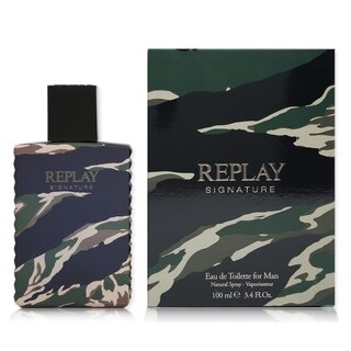 Replay Signature for Man Eau de Toilette 100 ml
